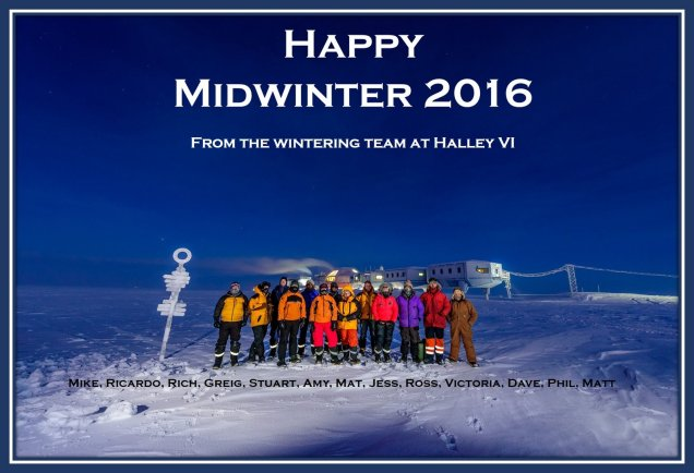Midwinter Greeting Halley