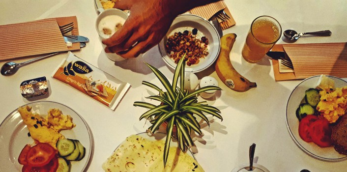 אוכל, דיאטה נטולת גלוטן ובעיקר מה שבאמצע