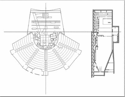 University Theatre Ground Plan