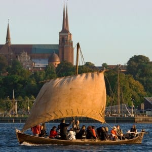 Viking Ship near Roskilde Cathedral