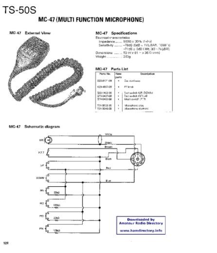 Cb Radio Mic Wiring Kenwood Mc 60 | Online Wiring Diagram