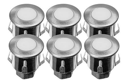 KIT 6 mini-spots BLANC CHAUD