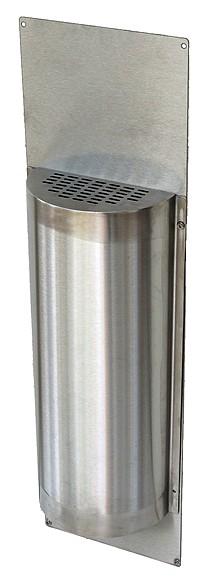 Déflecteur VAPEUR INOX Avec plaque de fond