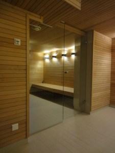 PAROIS VERRES Sauna