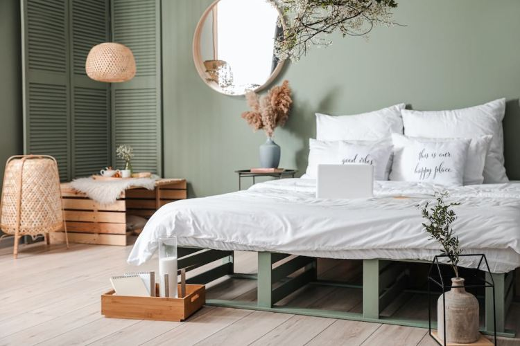 color relajante habitacion