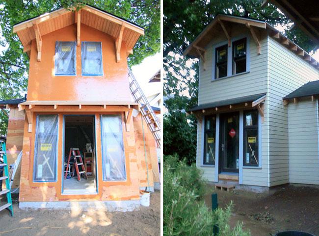 Alameda Ridge ADU, eco-friendly backyard cottage.