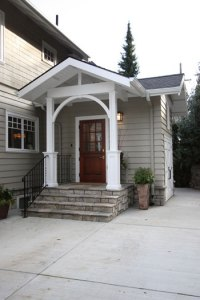 Mudroom addition remodel opens circulation and adds ...