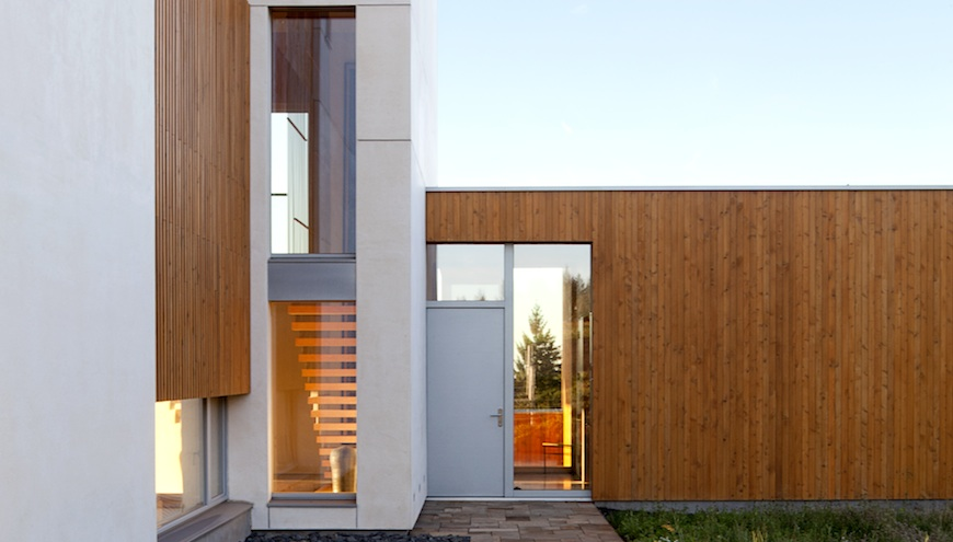 Passive House Green Home Building Tips: Karuna House Windows & Doors