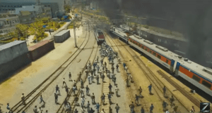Believe it or not this is a picture from TRAIN TO BUSAN, not a photo of this weeks rail strikes here in the UK. #Topical