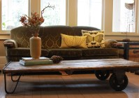 Coffee Table Made From Warehouse Cart - Hammer Like a ...