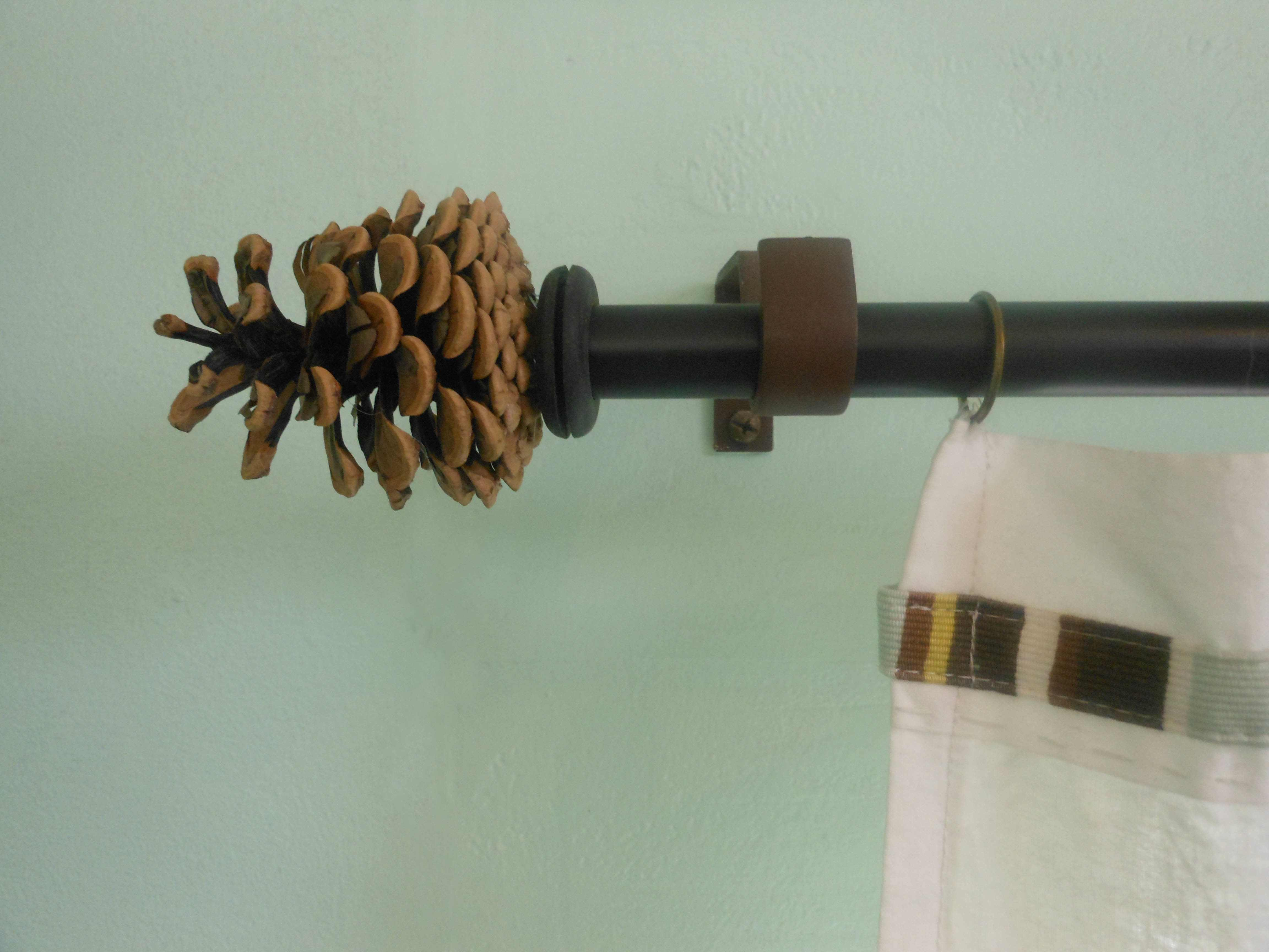 Modern curtain rods and finials - Make Your Own Curtain Rod Finials Hammer Like A Girlhammer Like