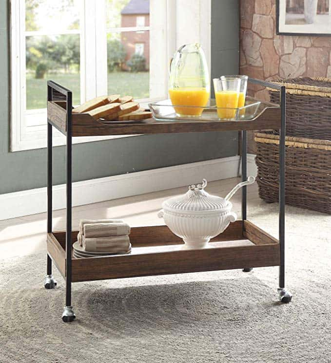 create a vintage coffee cart