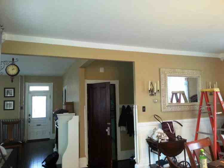 Dining Room Crown Molding 1