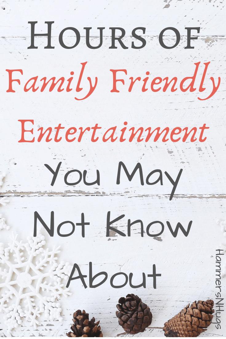 family friendly entertainment