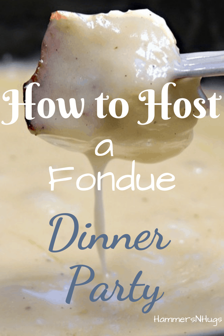 diy fondue dinner party