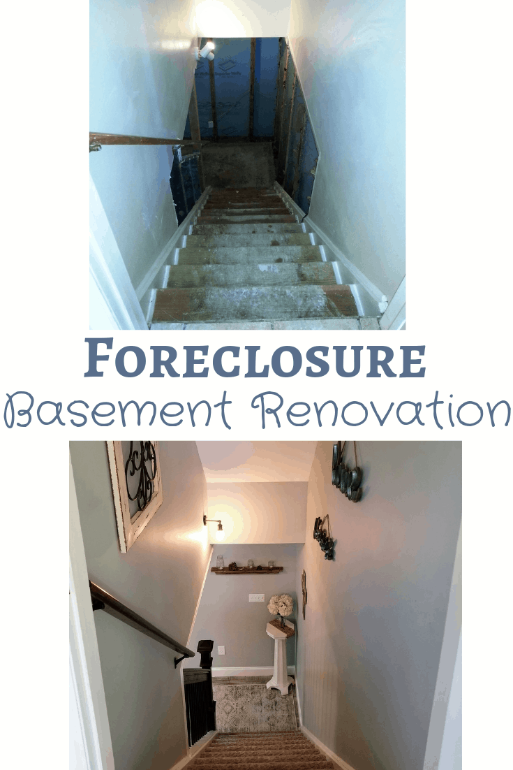 colonial foreclosure basement renovation