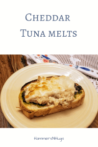 cheddar tuna melts recipe