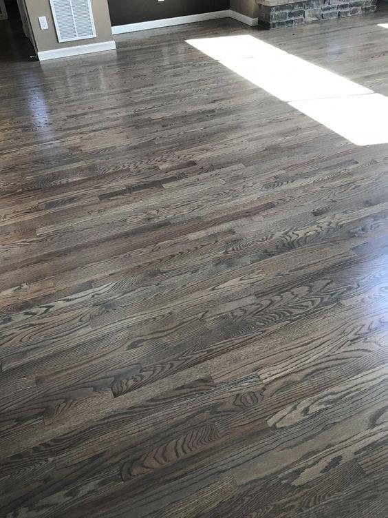 The Best Farmhouse Style Floor Stain