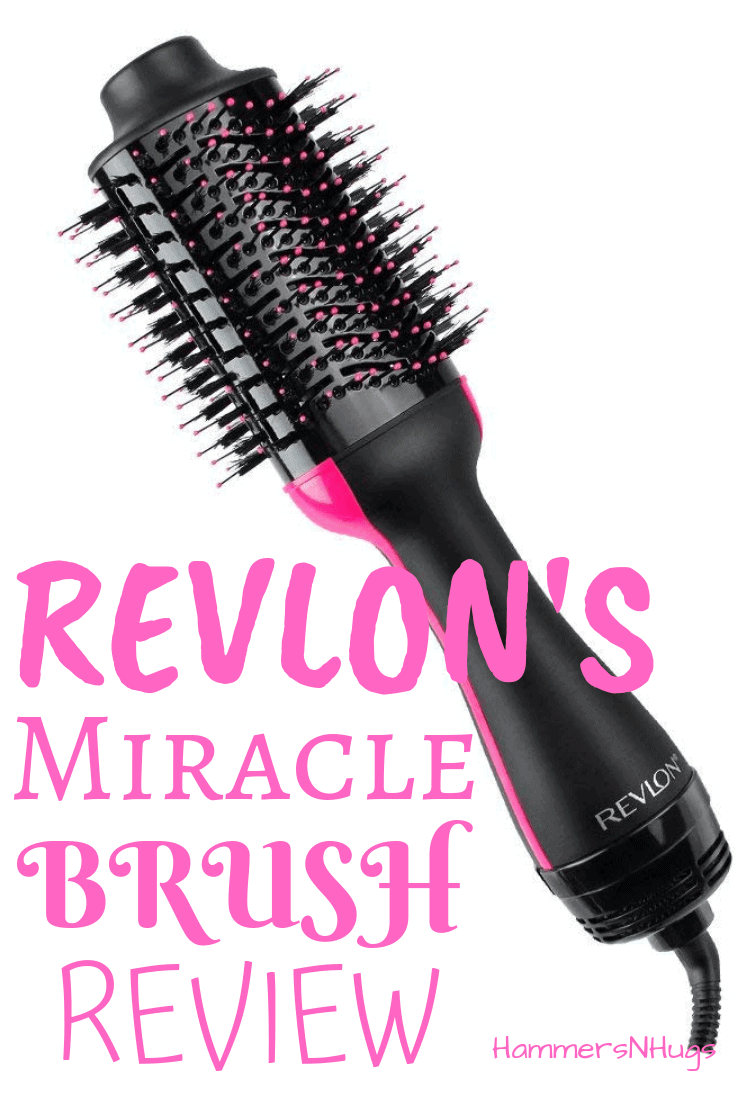 Revlon One Step Hair Dryer and Volumizer Brush Review