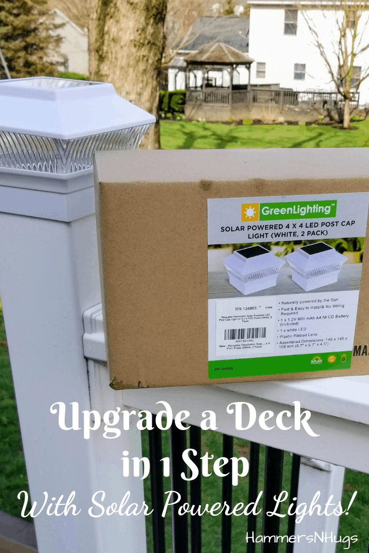 Easiest DIY Deck Lighting