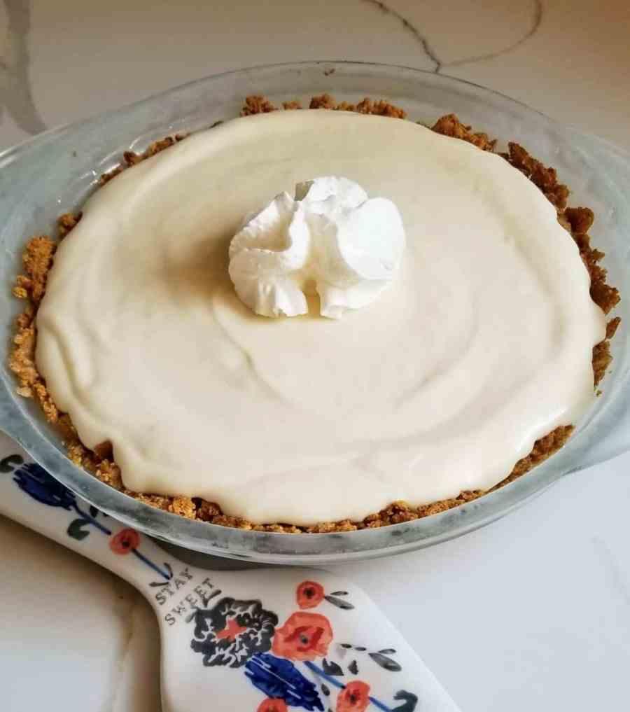 Creamy Lemon Pie Recipe