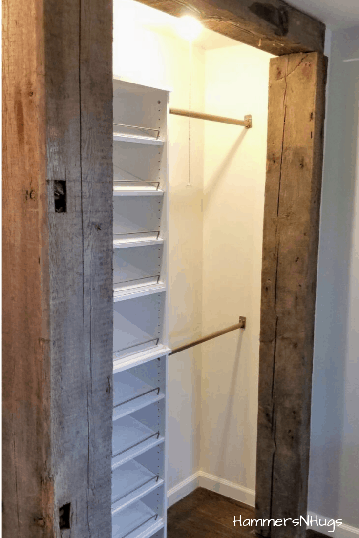 How to Design an Open Concept Closet