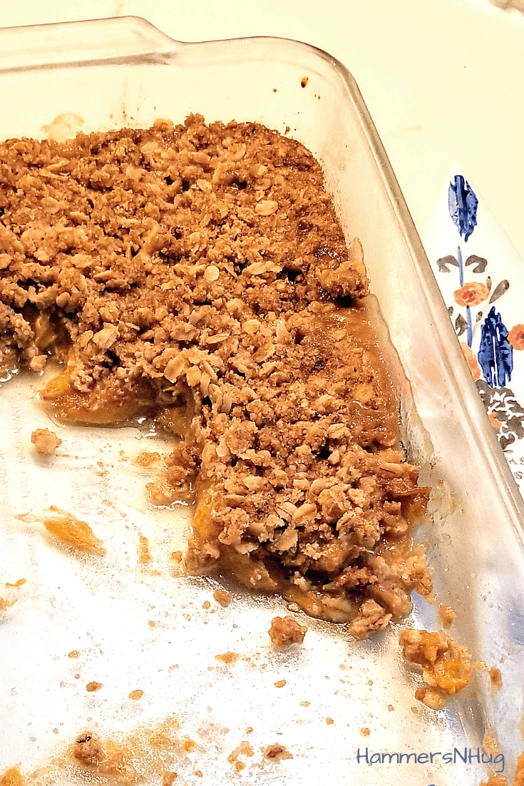 Easy Baked Fruit Crisp Recipe