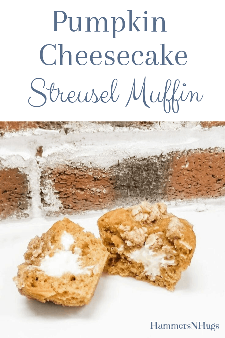 Pumpkin Cheesecake Streusel Muffin Recipe