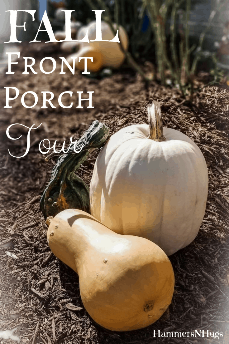 Fall Front Porch Tour