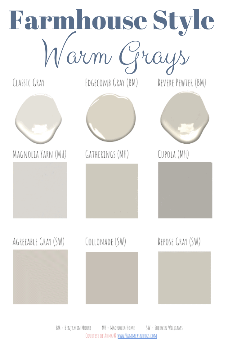 The Best Farmhouse Style Paint Guide