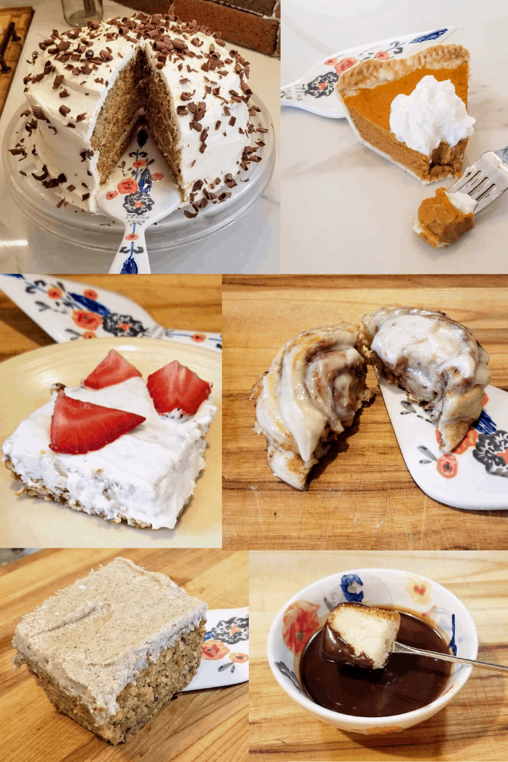 HOmemade dessert ideas for the holidays