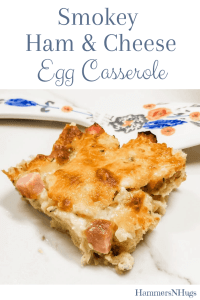 Smokey Ham and Cheese Egg Casserole REcipe