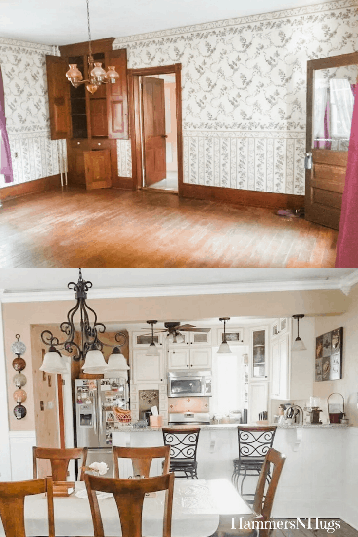 Before and After Victorian Kitchen Renovation