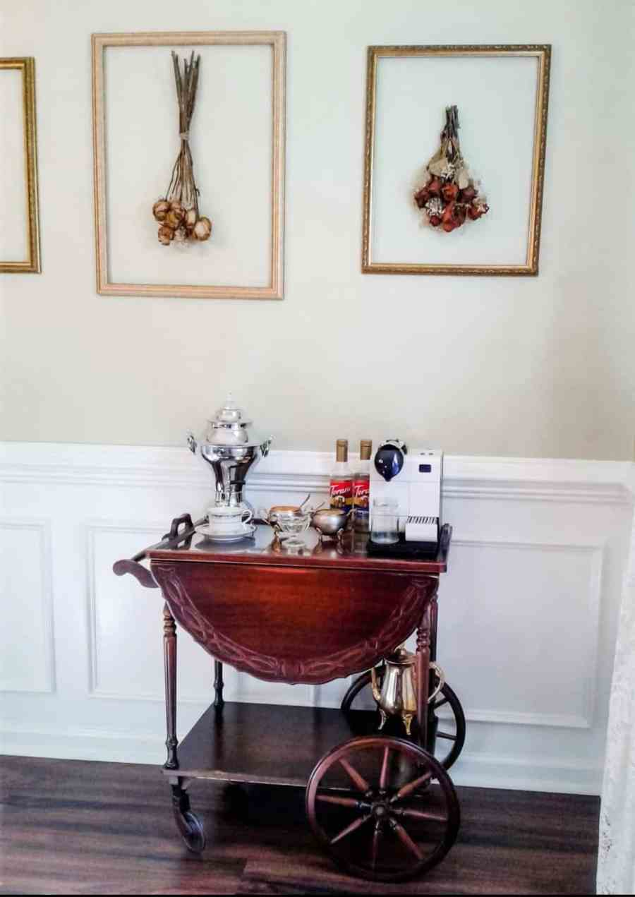 How to Create a Vintage Tea Cart