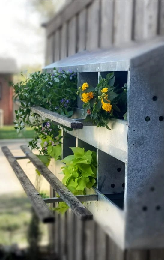 Industrial Garden Decor