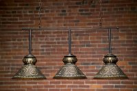 Custom Pool Table Light | Colonial Style Pool Table Light ...