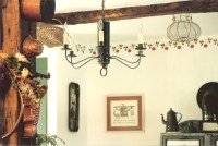 Colonial Reproduction Tin Chandeliers & Chandelier ...