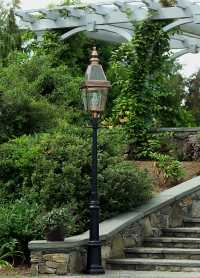 Colonial Boston Post Lantern & Lanterns | New England Lighting