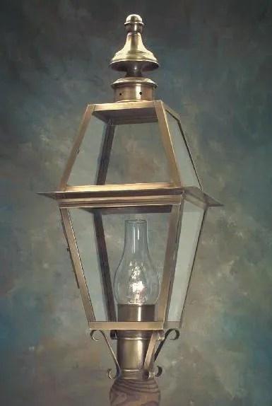 outdoor post lights rustic solid