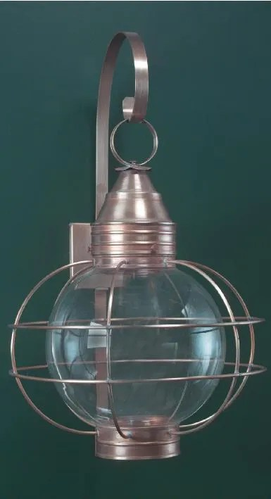 cape cod colonial onion wall lantern