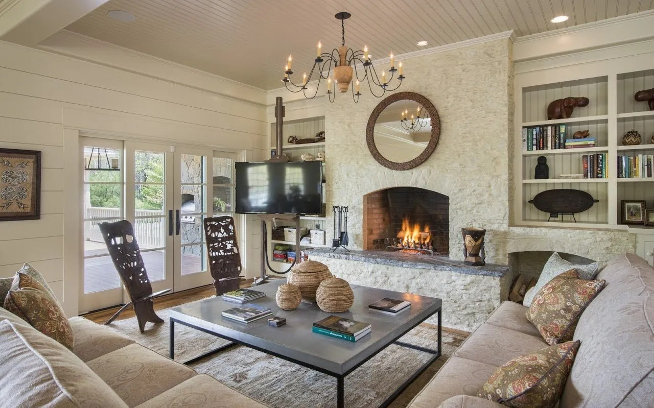 rustic colonial country lighting