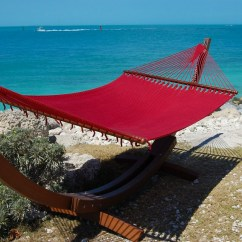 Hanging Chair Rope Reupholstered Vintage Chairs Caribbean Hammocks Jumbo (red) - By The Store Of Usa