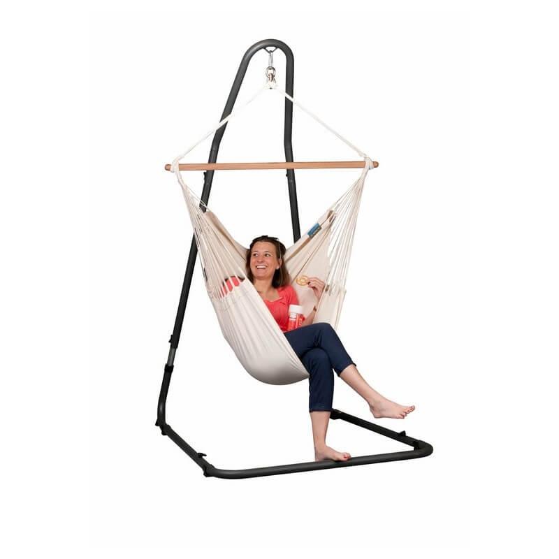 hammock chair stand adjustable best computer ever mediterraneo anthracite