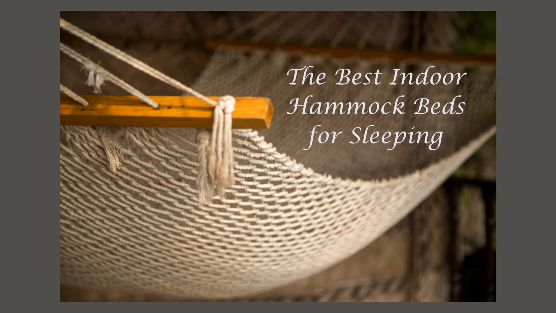 Best Indoor Hammock Beds For Sleeping Hammock Chillout