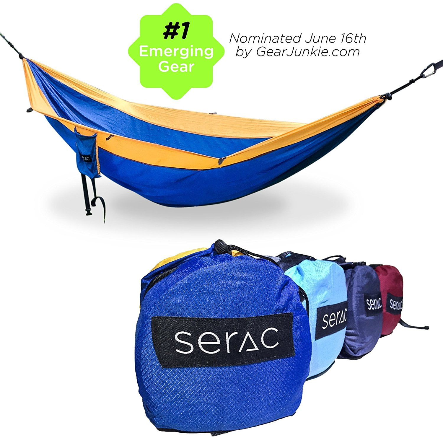 Serac Sequoia XL Double Camping Hammock Review