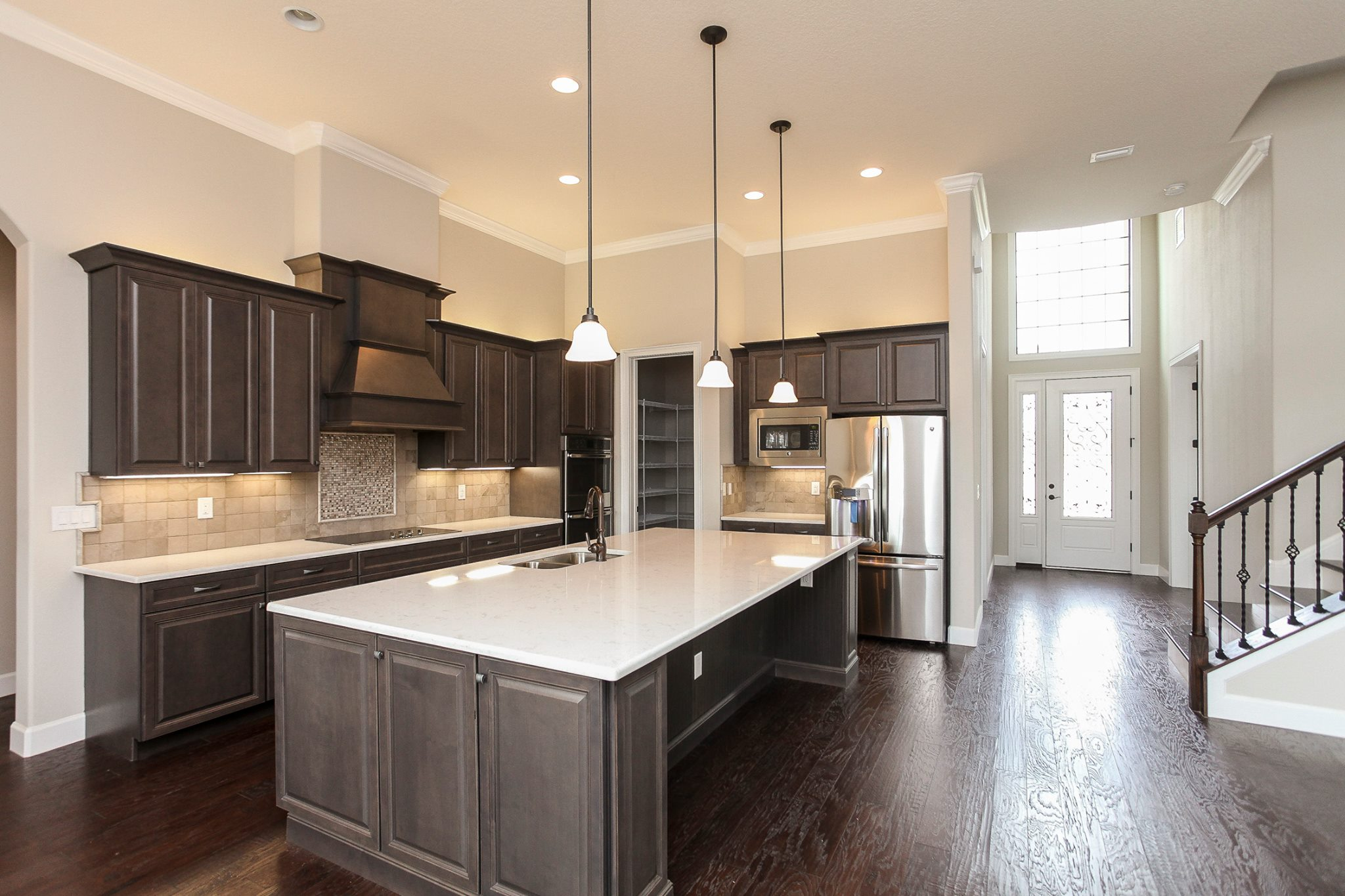 New Kitchen Construction With Marsh Cabinets, Stanisci