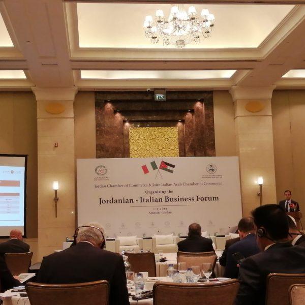 01.07.2019-Jordanian Italian Forum