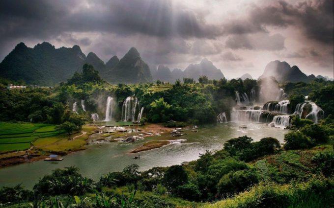 air terjun terindah di dunia Ban Gioc Detian