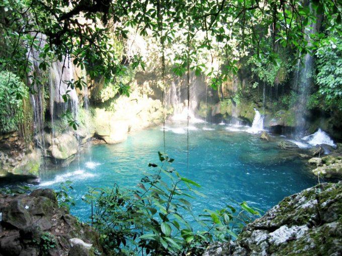 air terjun terindah di dunia Puente de Dios