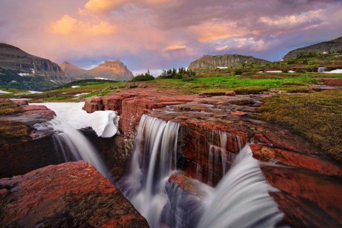 air terjun terindah di dunia Triple Falls